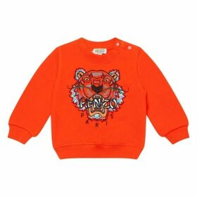 Kenzo Orange Tiger Sweatshirt