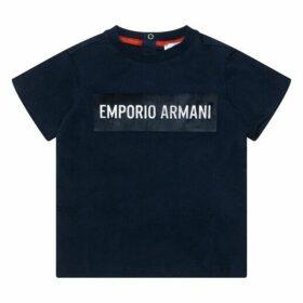 Emporio Armani Baby Boy Jersey Top