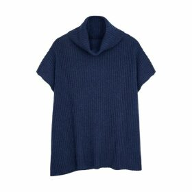 Hawico Savuto Navy Belted Cashmere Jumper