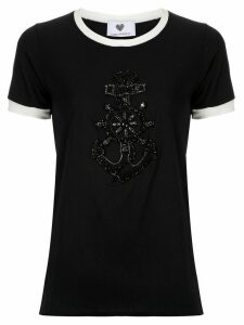 Andrea Bogosian Pinny embroidered T-shirt - Black