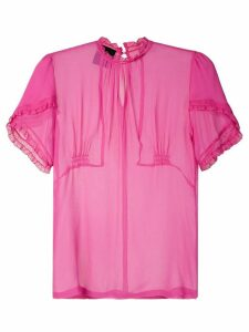 Andrea Bogosian silk blouse - PINK