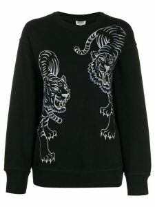 Kenzo Double Tiger sweatshirt - Black