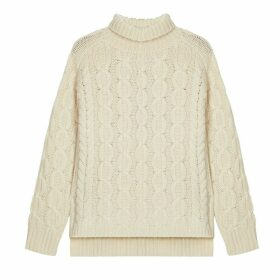 IGGY & BURT - The Iggy Lambswool Jumper In Cream