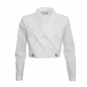 Giannina Capitani - Moss Stitch Midi Scarf In Red/Brown/Aqua
