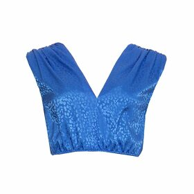 Giannina Capitani - Dash Blanket Scarf In Brown, Blue, Pink & Yellow
