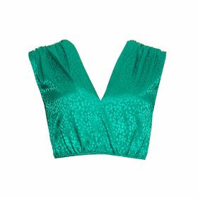 Giannina Capitani - Dash Narrow Scarf In Brown, Blue, Yellow & Pink