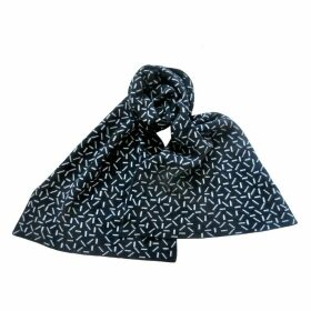 Giannina Capitani - Dash Blanket Scarf In Black & White