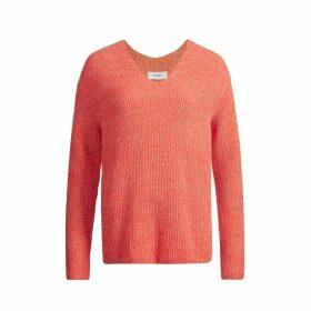 IN. NO - Papaya Aria V Neck Sweater
