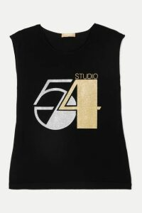 Michael Kors Collection - Glittered Cashmere Tank - Black
