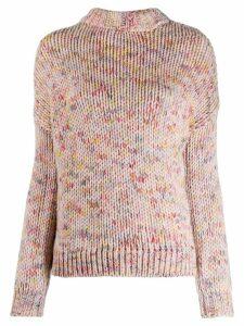 Fine Edge crew neck sweater - Pink