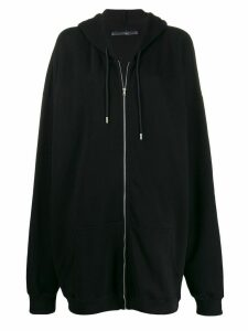 1017 ALYX 9SM oversized zipped hoodie - Black