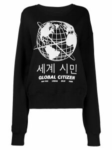 House of Holland Global Citizen sweatshirt - Black