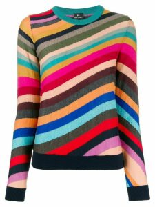 PS Paul Smith striped knit jumper - Yellow