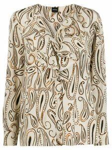 Aspesi paisley print blouse - NEUTRALS
