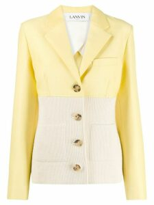 LANVIN hybrid blazer jacket - Yellow