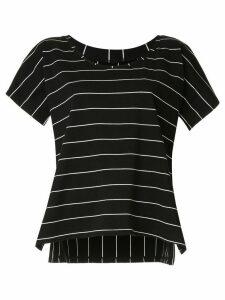 Taylor Derive striped T-shirt - Black