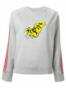 Marc By Marc Jacobs 'Peyton Frech Terry Tiger' sweatshirt - Grey