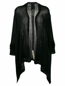 Rick Owens wrap cardigan - Black
