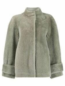 Boon The Shop oversized ribbed jacket - Grey