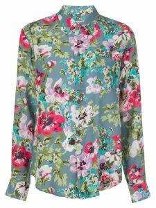 Junya Watanabe floral print shirt - Multicolour