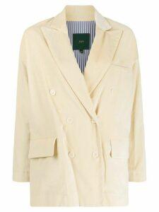 Jejia double breasted blazer - NEUTRALS