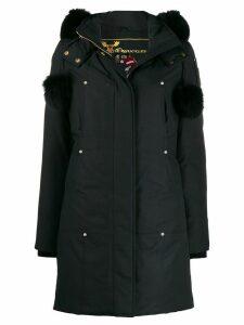 Moose Knuckles hooded parka coat - Blue