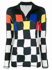 Rossignol JC de Castelbajac Squares Bessi knitted top - Black
