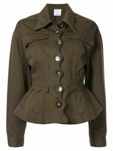 Acler Tana denim jacket - Green