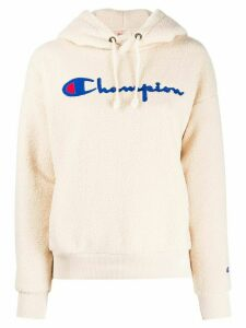 Champion logo fleece hoodie - Neutrals