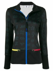 Rossignol JC de Castelbajac Icons Climi layered zipped top - Black