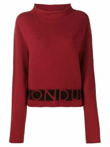 Dondup logo embroidered jumper