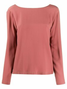 Semicouture button detail blouse - PINK