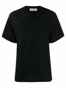 Jil Sander knitted details T-shirt - Black