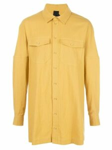 Bernhard Willhelm Masa long shirt - Yellow