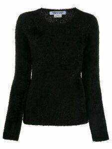 Comme Des Garçons Comme Des Garçons long sleeved sweater - Black