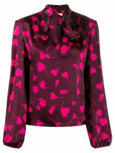 Semicouture all-over pattern blouse - PINK