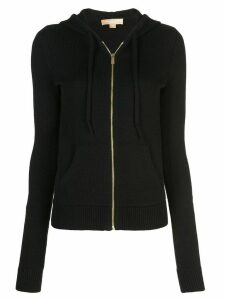 Michael Kors Studio 54 zipped hoodie - Black