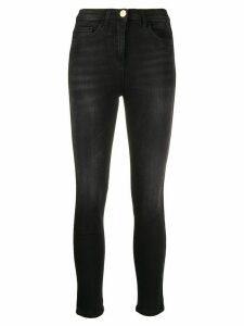 Elisabetta Franchi high-rise skinny jeans - Black