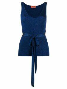 Missoni metallic knit top - Blue