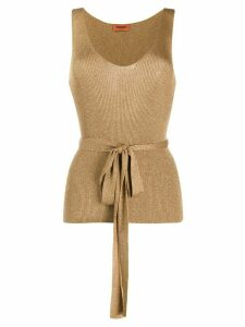 Missoni metallic knit top - GOLD