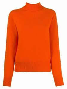 YMC relaxed-fit knit jumper - ORANGE