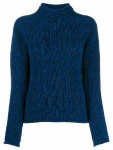 YMC turtle neck jumper - Blue