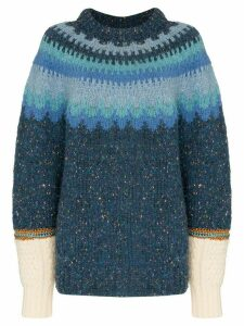 Rentrayage Isle of Skye jumper - Blue