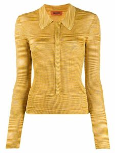 Missoni striped knitted top - Yellow