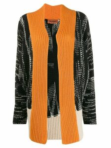 Missoni colour block cardigan - Black