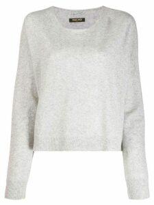 Max & Moi cashmere round-neck jumper - Grey