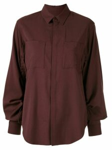 G.V.G.V. relaxed fit long sleeve shirt - Red