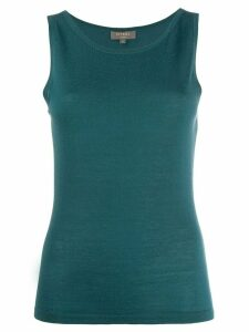 N.Peal cashmere sleeveless top - Green