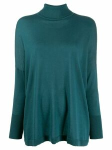 N.Peal superfine oversize cashmere jumper - Green