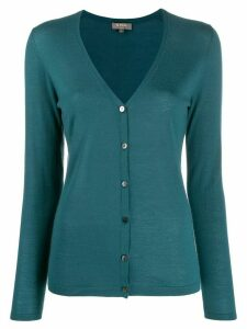 N.Peal superfine cashmere cardigan - Green